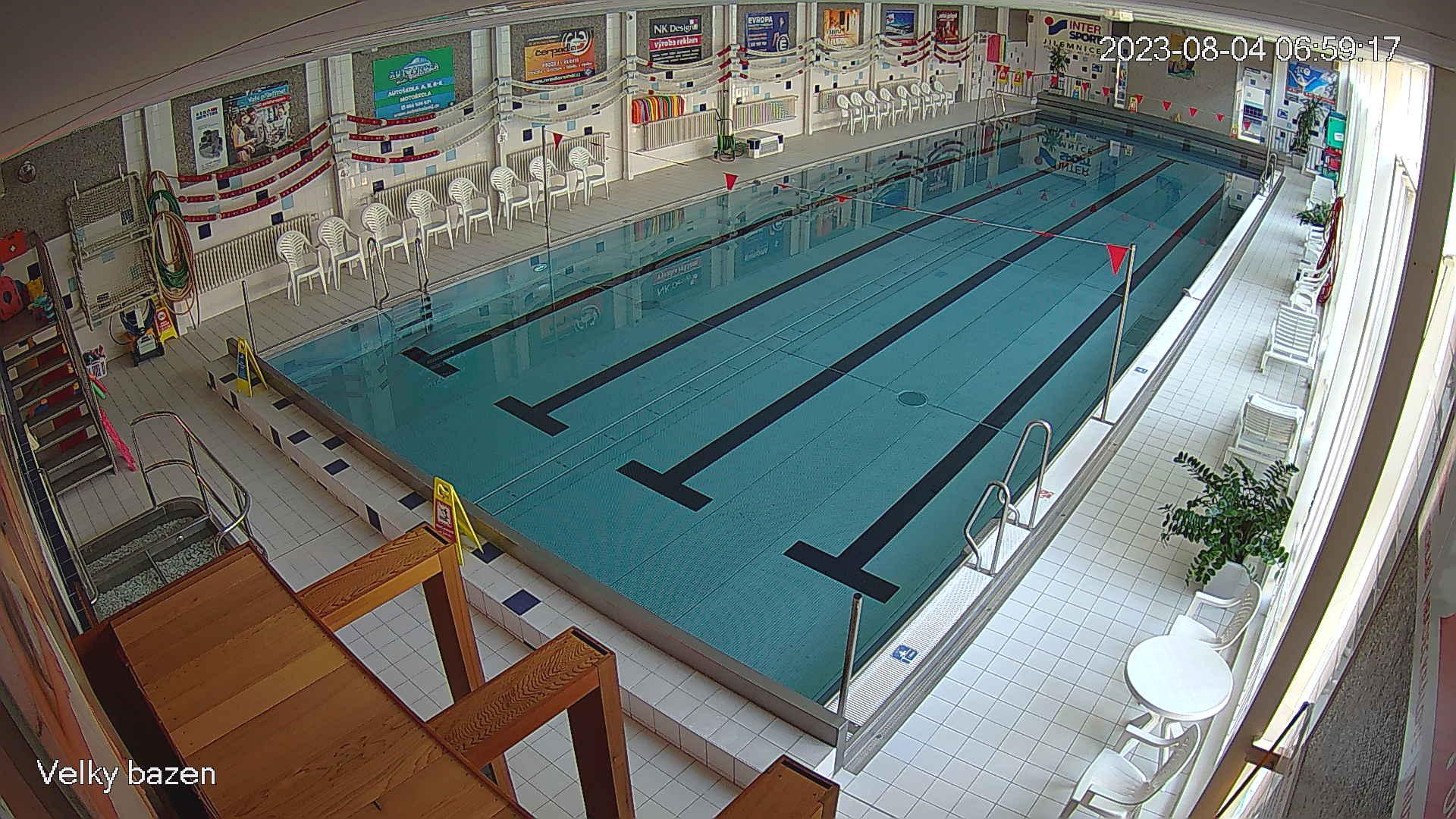 Jilemnice velký plavecký bazén
