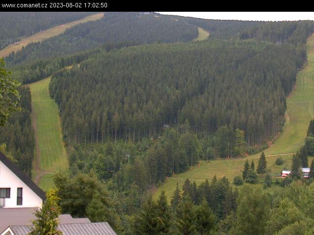 Webcam Ski Resort Spindleruv Mlyn Sv. Petr - Giant Mountains