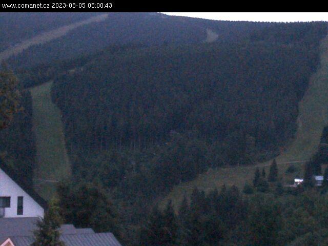 Webcam Skigebiet Spindlermühle Sv. Petr - Riesengebirge
