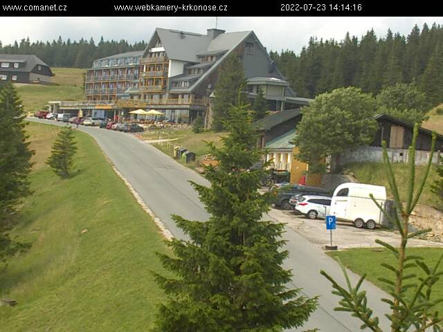 Webcam Ski Resort Spindleruv Mlyn Erlebach Baude - Giant Mountains