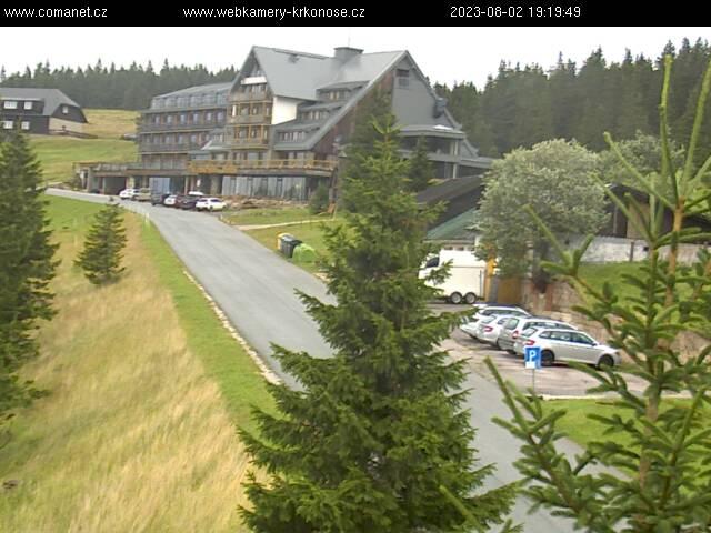 Webcam Ski Resort Spindleruv Mlyn Erlebach Baude - Giant Mountains