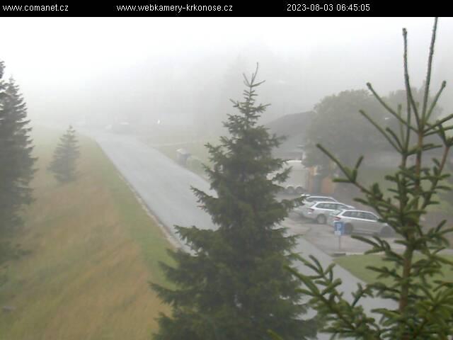 Webcam Skigebiet Spindlermühle Erlebach Baude - Riesengebirge