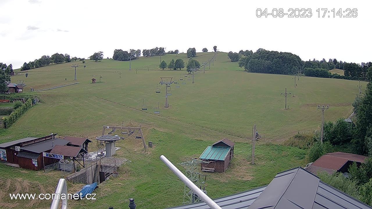 Sjezdovka Kněžický vrch, Vrchlabí