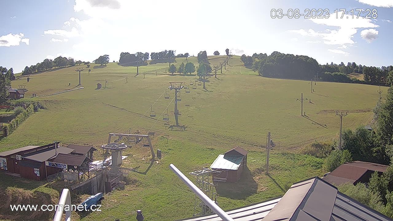 Webcam Ski Resort Vrchlabi cam 2 - Giant Mountains