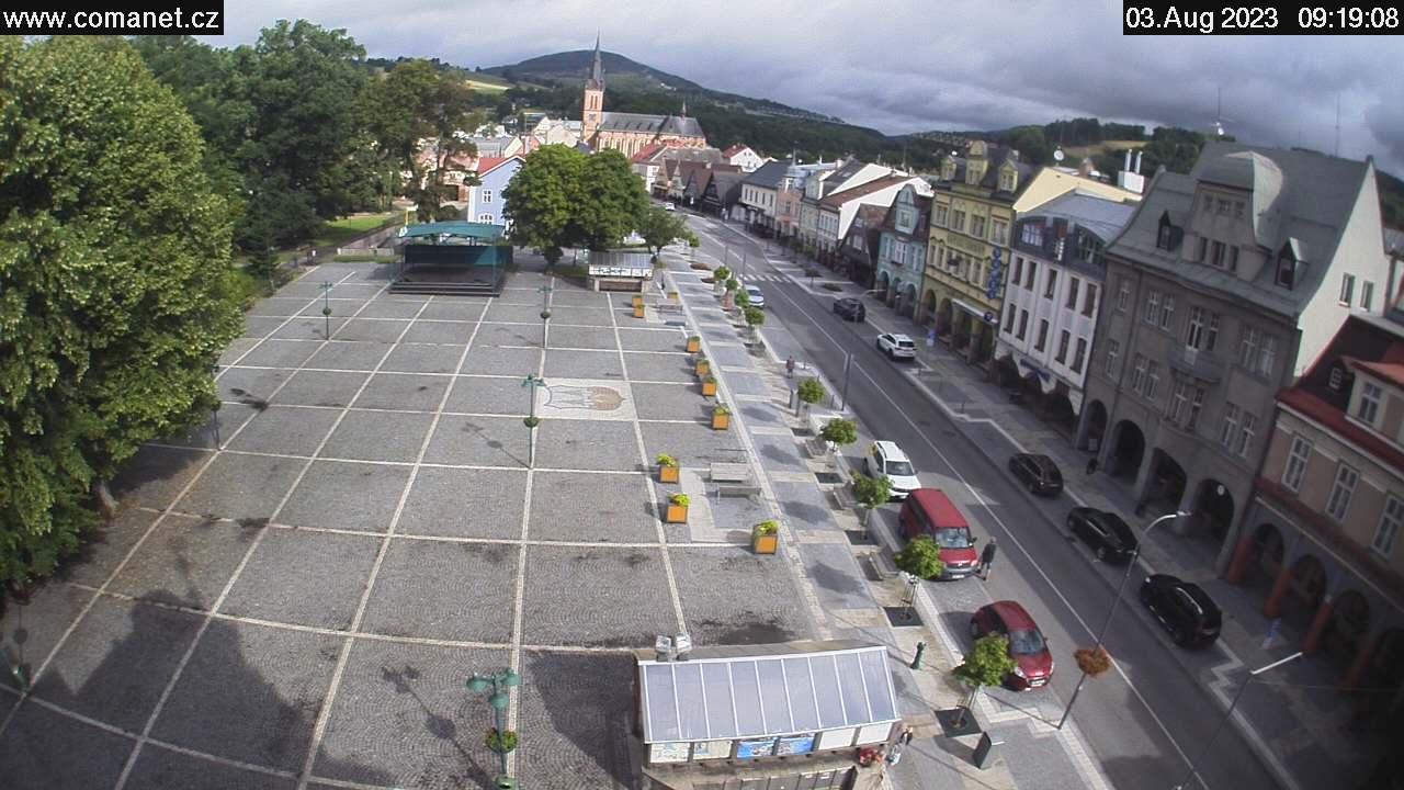 Webcam Ski Resort Vrchlabi Markt - Giant Mountains
